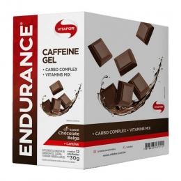 ENDURANCE CAFFEINE GEL (360G - 12 SACHES) - Chocolate Belga